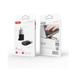 XO NB149-F USB to USB-C Adapter black OTG