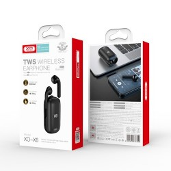 XO X6 TWS Bluetooth Earphones Black