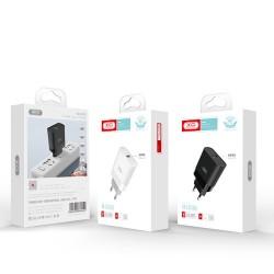 XO L63 QC 3.0 Travel Adapter 1Usb Black