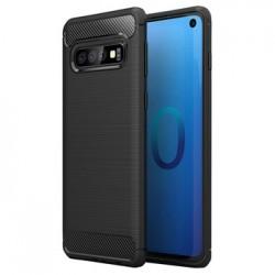 Samsung Galaxy A22 4G Testa Carbon Silicone Black