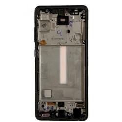 Samsung Galaxy A52 5G Lcd+Touch Screen+Frame Black ORIGINAL
