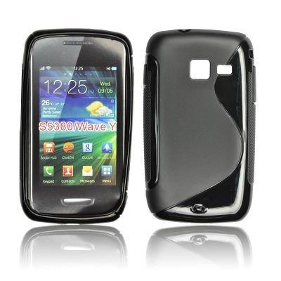 Silicone S-Line Samsung S5380 Wave Y black