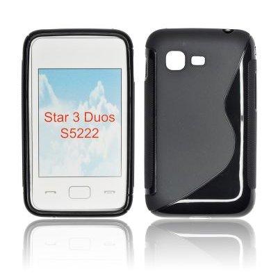 Silicone S-Line Samsung S5220/S5222 Star 3 black