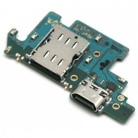 Samsung SM-A805F/DS Galaxy A80 Flex Board USB Type-C Connector + Microphone ORIGINAL
