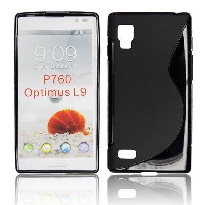 Silicone S-Line LG L9/P760 black