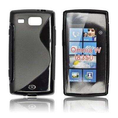 Silicone S-Line Samsung i8350 Omnia W black