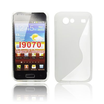 Silicone S-Line Samsung i9070 Galaxy S Advance transparent