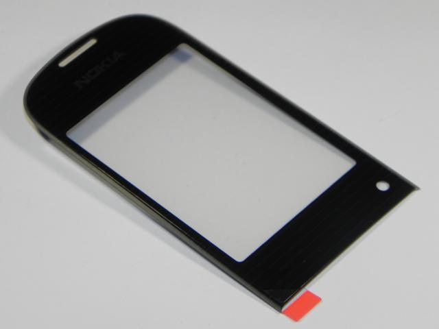 Nokia 3710f Display Glass black ORIGINAL