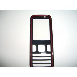 Nokia 5630x FrontCover black/red ORIGINAL