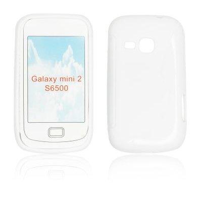 Silicone S-Line Samsung S6500 Galaxy Mini 2 white