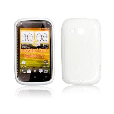 Silicone S-Line HTC Desire C white