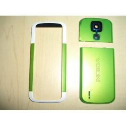 Nokia 5000 Cover Set 3parts white/green ORIGINAL