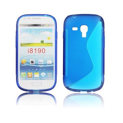 Silicone S-Line Samsung i8190 Galaxy S3 Mini blue