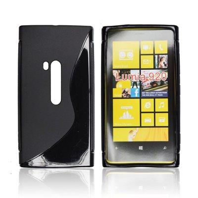 Silicone S-Line Nokia Lumia 920 black