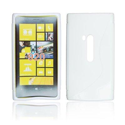 Silicone S-Line Nokia Lumia 920 white