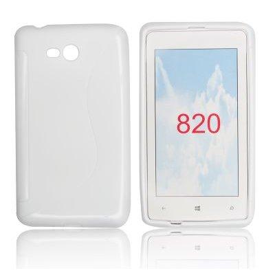 Silicone S-Line Nokia Lumia 820 white