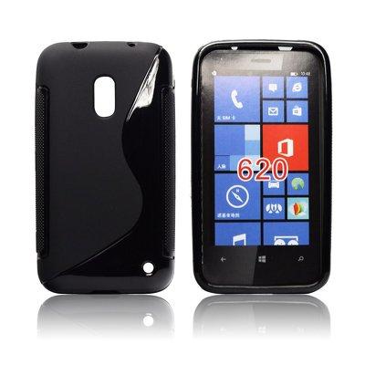 Silicone S-Line Nokia Lumia 620 black