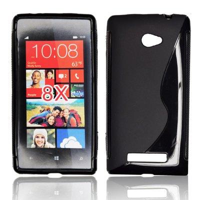 Silicone S-Line HTC 8X black