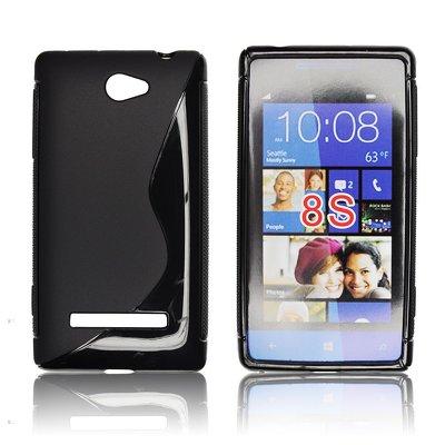 Silicone S-Line HTC 8S black