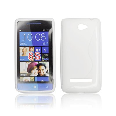 Silicone S-Line HTC 8S white