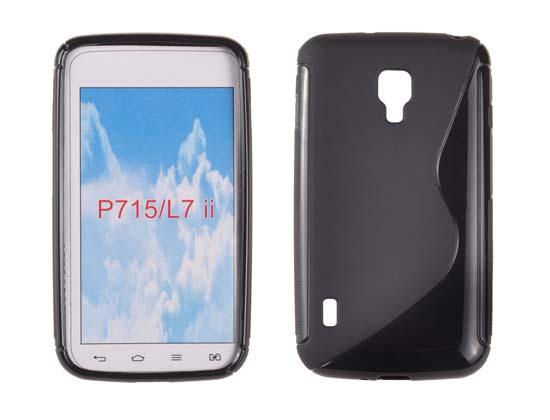 Silicone S-Line LG L7 II/P715 black