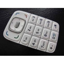Nokia 6131 Keypad white ORIGINAL