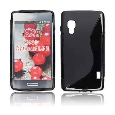 Silicone S-Line LG L5 II/E460 black