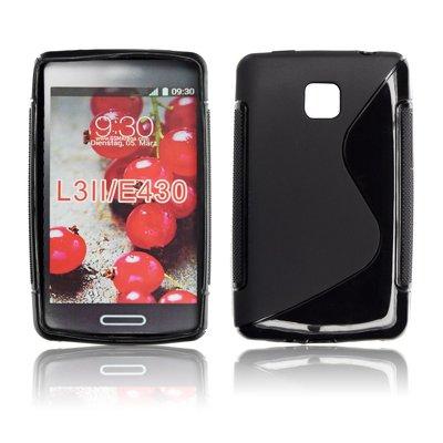 Silicone S-Line LG L3 II/E430 black