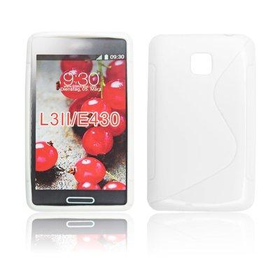 Silicone S-Line LG L3 II/E430 white