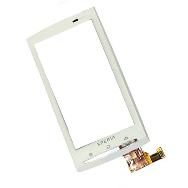 Sony Ericsson X10 FrontCover+Touch Screen white HQ