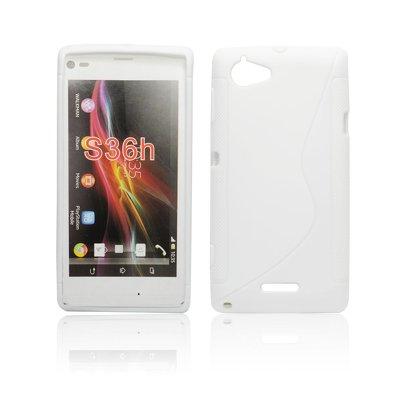 Silicone S-Line Sony Xperia L/S36H white