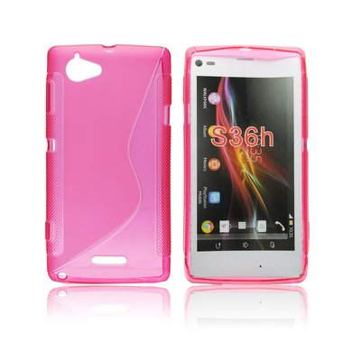 Silicone S-Line Sony Xperia L/S36H pink