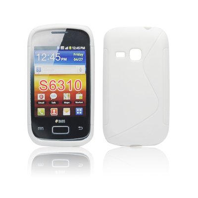 Silicone S-Line Samsung S6310 Galaxy Young white