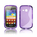 Silicone S-Line Samsung S6310 Galaxy Young violet