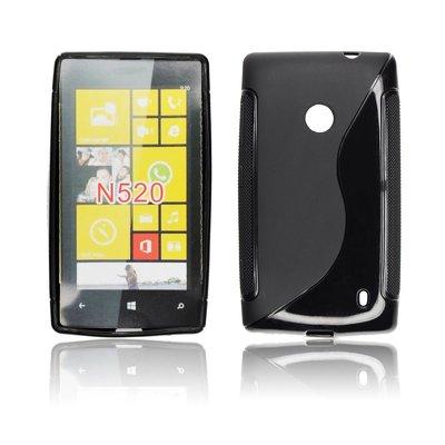 Silicone S-Line Nokia Lumia 520/525 black