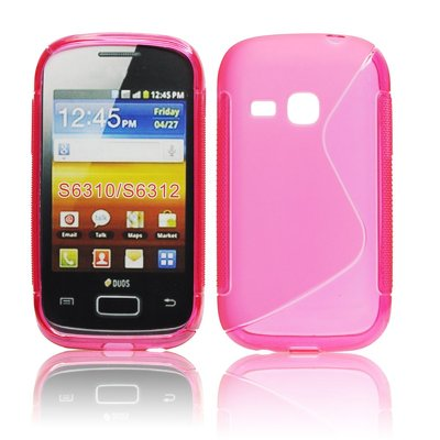 Silicone S-Line Samsung S6310 Galaxy Young pink