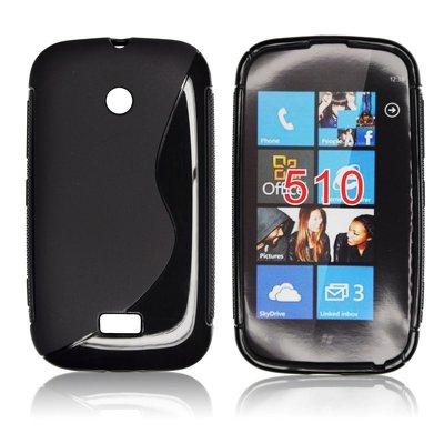 Silicone S-Line Nokia Lumia 510 black