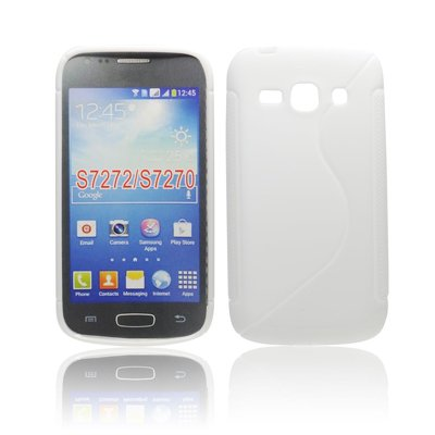 Silicone S-Line Samsung 7272/S7270 Galaxy Ace 3 white