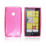 Silicone S-Line Nokia Lumia 520/525 pink