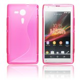Silicone S-Line Sony Xperia SP/M35h pink