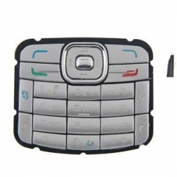 Nokia N70 Keypad silver OEM