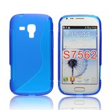 Silicone S-Line Samsung S7562 Galaxy S Duos blue