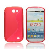 Silicone S-Line Samsung Galaxy Express i8730 red