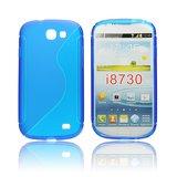 Silicone S-Line Samsung Galaxy Express i8730 blue