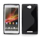 Silicone S-Line Sony Xperia C black