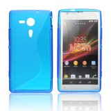 Silicone S-Line Sony Xperia SP/M35h blue