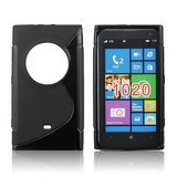 Silicone S-Line Nokia Lumia 1020 black