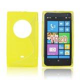 Silicone S-Line Nokia Lumia 1020 yellow