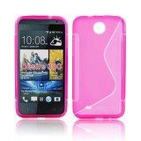 Silicone S-Line HTC Desire 300 pink