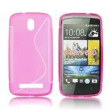 Silicone S-Line HTC Desire 500 pink
